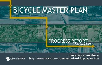 Stone Way N: Bicycle Master Plan Adopted in 2007.