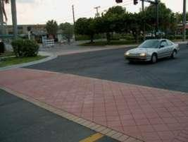 Pedestrian Safety Cross walks are in need of refurbishment and must be clearly visible by motorists and pedestrians.