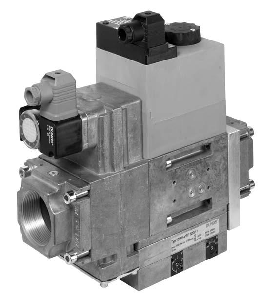 Double solenoid valve Regulator and safety combination Infinitely variable floating operation DM-EF 07-7. Printed in Germany Rösler Druck Edition 0.0 Nr.