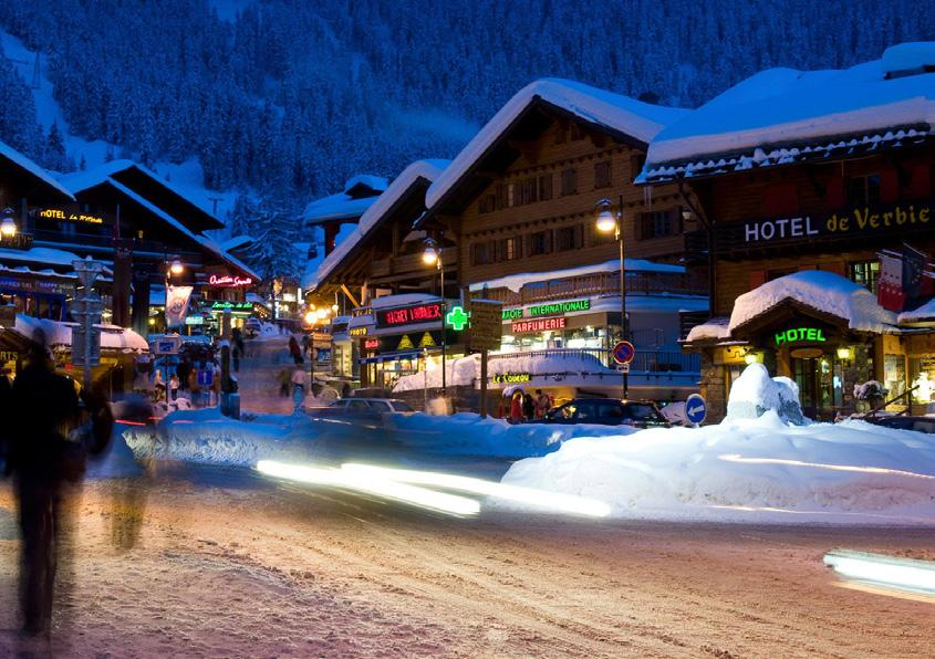 If you want more skiing, ride a snowmobile up to a mountain restaurant and then enjoy a torch lit descent back to town.
