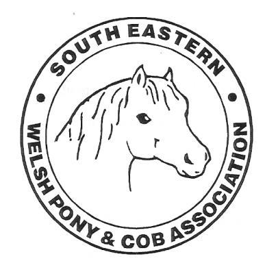 SOUTH EASTERN WELSH PONY & COB ASSOCIATION SPRING SHOW on SUNDAY 20 th MARCH 2016 At Crockstead Equestrian Centre, Eastbourne Road, Halland, Sussex.