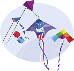 The History of Kites The flying of kites began 3000 years ago in China. Ancient Chinese people would use bamboo and silk, two products readily available, to make the kites.