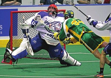 Larry Palumbo/Coyote Magic Scott McCall David May / DEphoto INDOOR LACROSSE MEN'S FIELD LACROSSE WOMEN'S FIELD LACROSSE Indoor (box) lacrosse is played on a standard sized arena floor and features