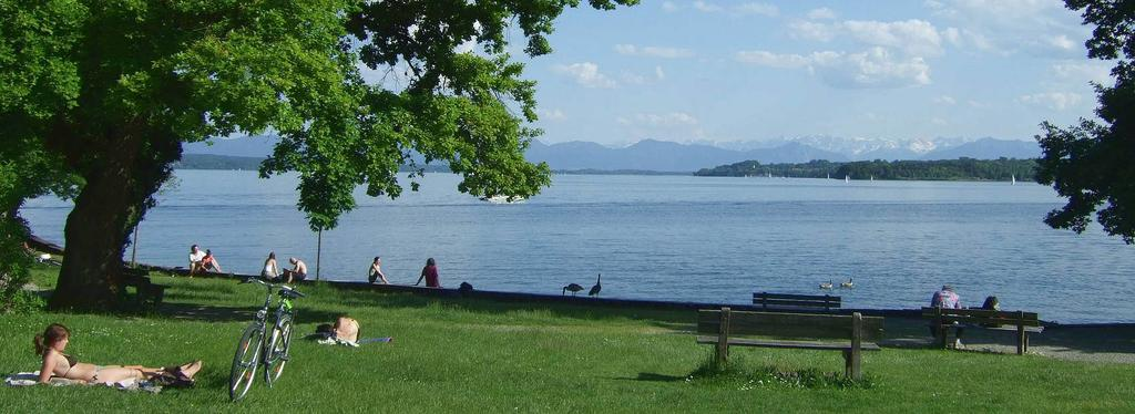 LOCATION 1: LAKE STENBERG The team will stay 3 days in a hotel at the Lake Starnberg.
