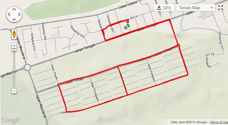 Morning / Early Evening Ride: 2000 Houses Loops The route: F3/F4 meeting point 2000 Houses (5 x 5km laps) Suggested
