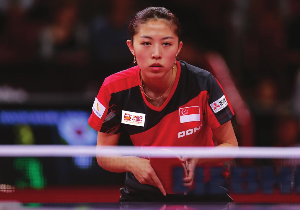 Yu Meng Yu feels amazing Itknowing that my fellow are supporting me back at home even when I am competing overseas, and this makes me want to win for them!