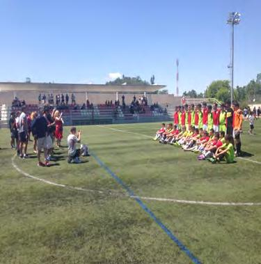 21 Participate in professional training session 1 (eg RCD Espanyol).