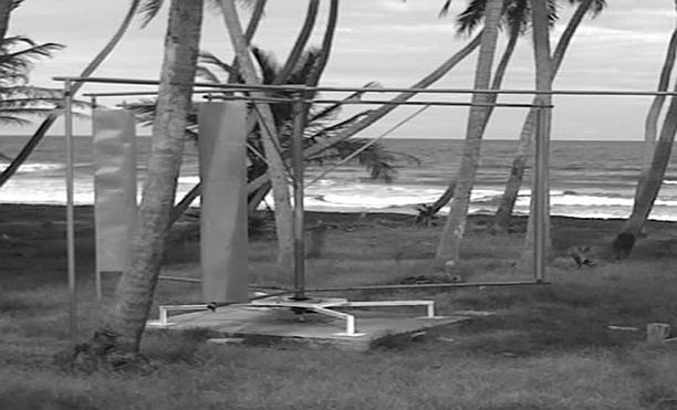 118 119 120 121 122 123 124 125 126 127 128 129 130 131 Figure 2. VAWT built and located at Manzanilla, Trinidad. 4.
