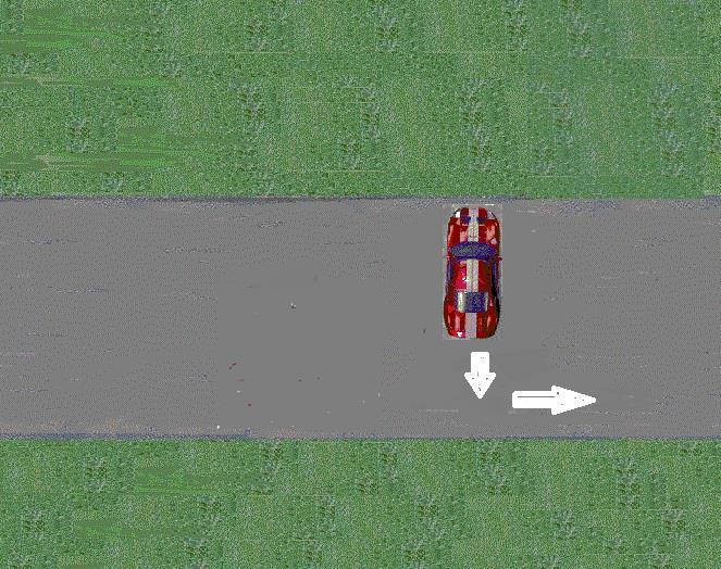 6. Try to turn your vehicle as close to a 90-degree angle as possible. Stop your vehicle and look for traffic.