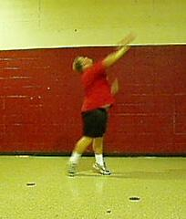 Shot put learn by - doing Basic technique for the Shot Put By: Mark Harsha Portage High School Girls Head Coach Goal One: Shot grip and placement 1.