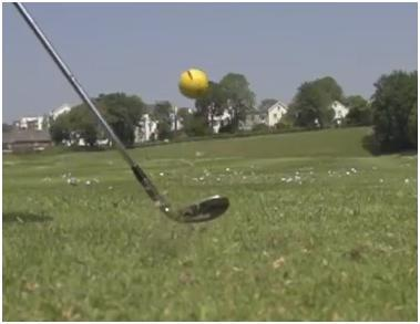 SHORT GAME DISTANCE CONTROL Use a lob wedge (60 degree or similar) Begin with 8 balls Hit your first ball a few feet in front of you.