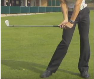 BODY MOTION LAG POWER DRILL SPEED AND POWER Take normal backswing.