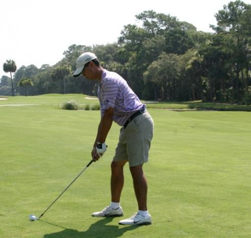 PHASES OF THE SWING LEFT FOOT BACK BACKSWING This drill will prevent you from swaying off
