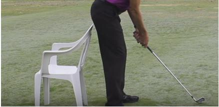 AT HOME DRILLS CHAIR DRILL Keep your lower body still while