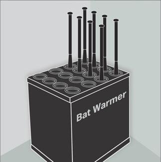 wall of the bat. WARMING BATS PlayPic TECHNOLOGY ISSUES There are several ways bats can be altered illegally, including through the use of bat warming devices.