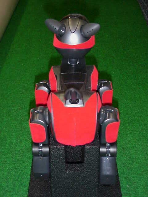 The three robots have the jersey numbers 2, 3,