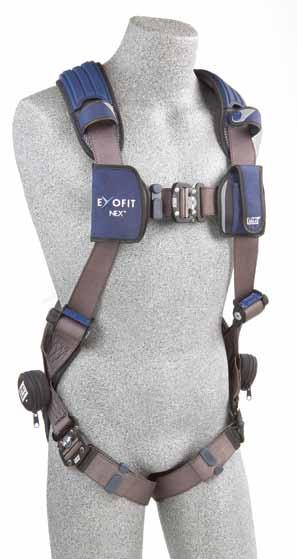 VEST-STYLE FULL BODY HARNESSES Vest-style harnesses are the most universal, with multiple configurations and