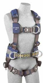 F U L L B O D Y H A R N E S S E S TOWER CLIMBING HARNESSES Tower climbing models are built to keep