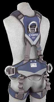 FU LL B O DY HARNESSES 1113348 ROPE ACCESS AND RESCUE HARNESS Repel web, Tech-Lite aluminum front, back
