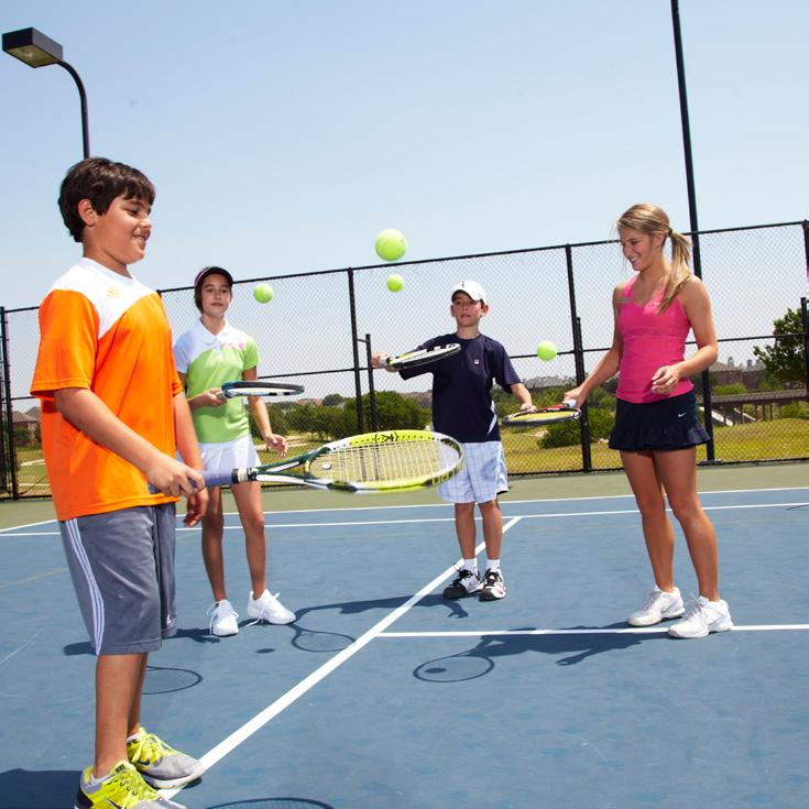 This program is based on 60 Quick Start tennis methods. GN For juniors age 11+ who are just starting to play full-court tennis.