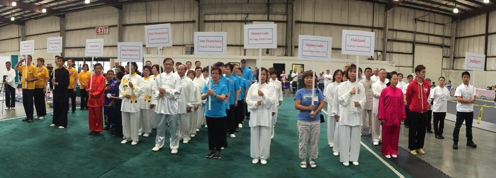 2 nd USA West Coast International Taichi Championship On September 3 rd, 2017