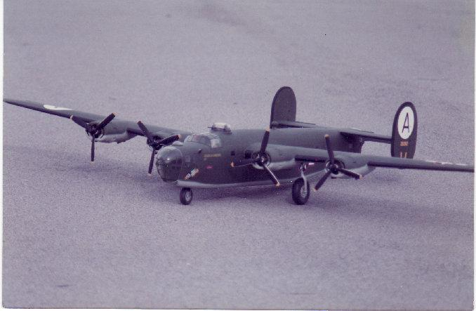 In 1988, I took a Stafford B-24 to the worlds and we placed