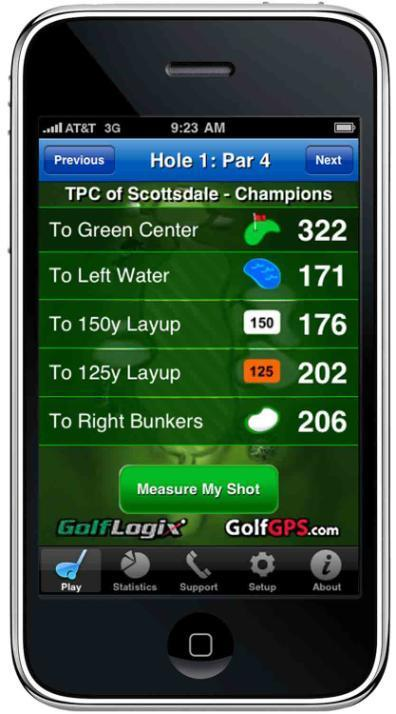GolfLogix: Golf GPS User Guide for: iphone