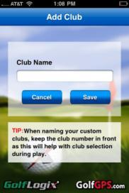 the name of any clubs you wish.