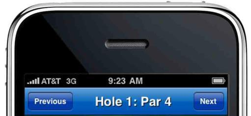 Getting Started: Optimal Settings (continued) Battery Life: To optimize the battery life on your iphone 3G while using the GolfLogix GPS application on the course: 3.