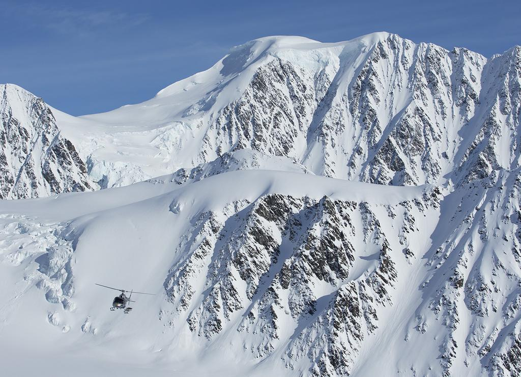02 2018 CPG SCHEDULE & RATES CPG CAN DELIVER THE SKIING OR RIDING EXPERIENCE OF YOUR LIFE Chugach Powder Guides has delivered some of the best powder and most exhilarating terrain that Alaska has to