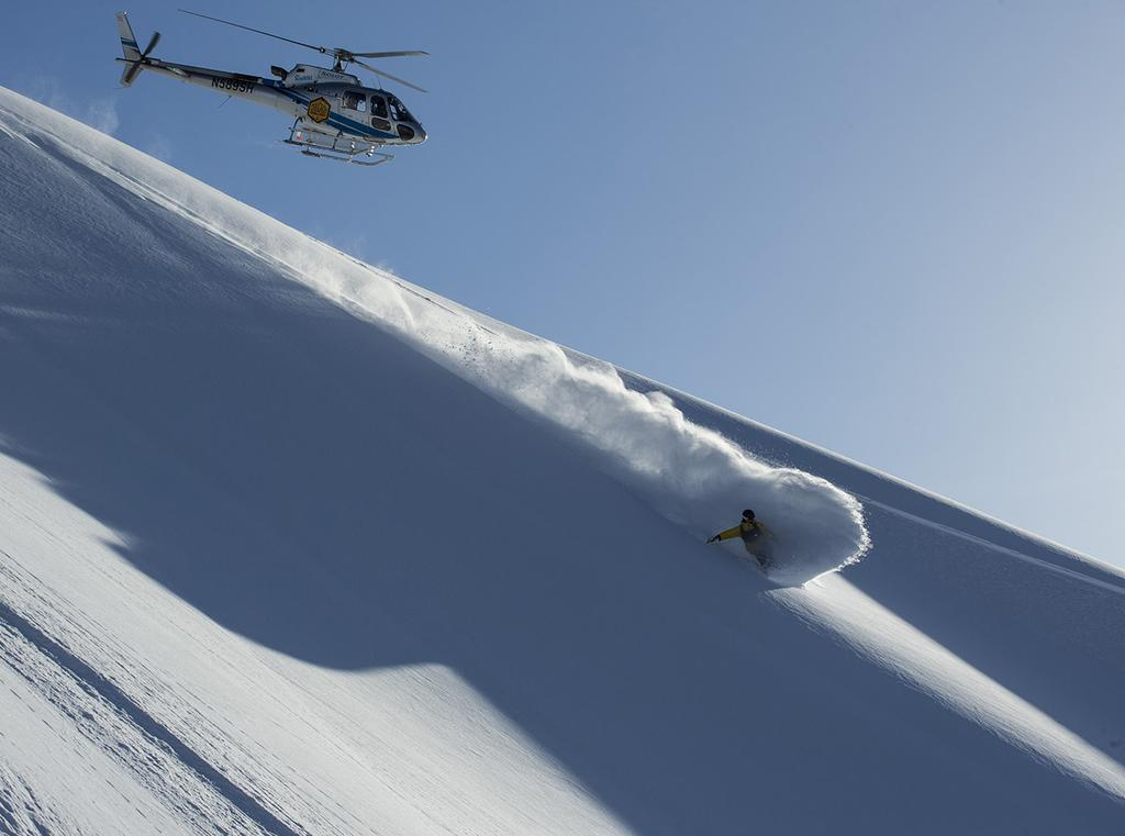03 2018 CPG SCHEDULE & RATES GIRDWOOD HELI-SKI SINGLE DAY HELI-SKI $1375 A full day of heli-skiing with Chugach Powder Guides includes 16,000-18,000 vertical feet of heli-skiing, along with lunch in