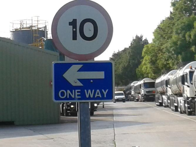 to and from the delivery point; access to and from the