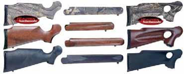 Thompson Center Encore Frames, Grips, Forends & Buttstocks Encore Rifle Buttstocks & Forends Encore Frames With Grip & Forend Buttstocks and Forends for Rifles come with Swivel Studs Composite