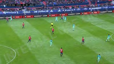 ACTIONS La Liga Campaign Marsbet elected for a 30 match football advertising campaign during the 2016-17 season, with all matches involving either FC Barcelona