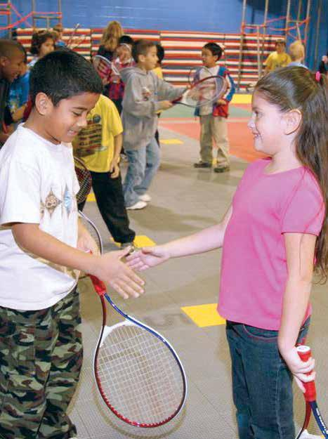 Tennis Festivl A Tennis Festivl formt includes vriety of skill nd gme chllenges tht cn be done individully or in tems.