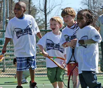 Kids Tennis Clubs Kids' Tennis Clubs re designed to give children opportunity to try tennis in sfe, supportive, extrcurriculr setting.