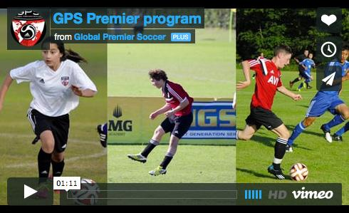 JUNIOR PREMIER PROGRAM The GPS Premier Program emphasis is player-centric with development the number one priority.