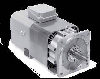 Asynchronous Motors with Solid Shaft ASM 2 Series Spindle motors with 2 pole pairs Rated power output 12 kw to 24 kw Choice of standard or spindle bearing Motor ASM 2 M ASM 2 L ASM 2 U ASM 2W Rated