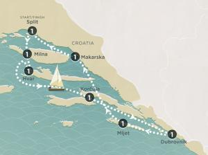 Do yourself a favour and go where the calm seas gently lap at the picturesque islands of the Dalmatian coast;