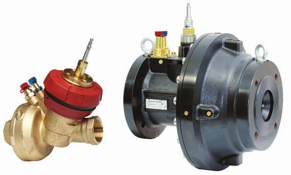 TA-FUSION-P Combined control & balancing valves Pressure independent