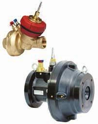 IMI TA / Control valves / TA-FUSION-P TA-FUSION-P These innovative pressure independent balancing and control valves for heating and cooling systems combine the key hydronic functions of balancing