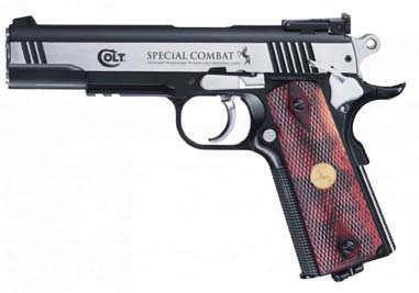 Colt Special Combat Classic Heavy all-metal version of the Colt classic.