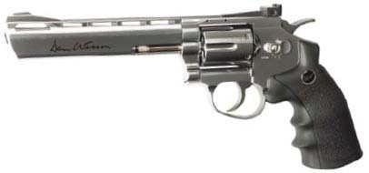 00 Dan Wesson 6 Revolver Stainless - CO2 4.