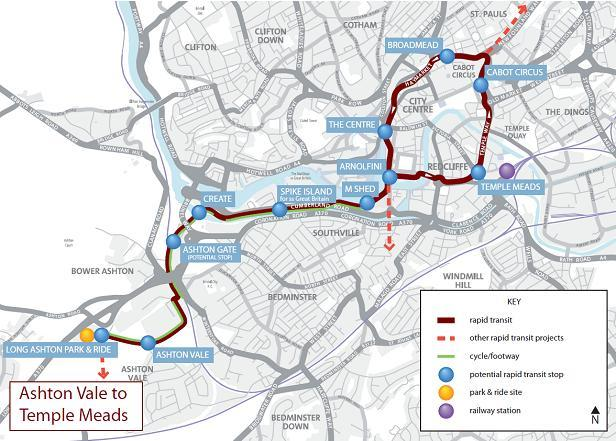 D.1. D.1.1. D.2. D.2.1. D.2.2. Introduction This appendix describes the cumulative impacts of adding the Ashton Vale to Temple Meads (AVTM) rapid transit scheme to the SBL scheme.