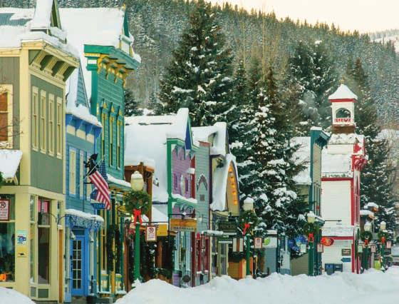 CRESTED BUTTE, COLORADO A true mountain town with an easy-going attitude and a lifestyle that you simply don t find every day, Crested Butte is a must see with plenty of festivals, events and outdoor