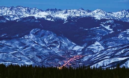 Cathy Benson, Broker/Owner of Benson Sotheby s International Realty VAIL VALLEY, COLORADO An iconic example of luxurious alpine villages set among the backdrop of the Rocky Mountains, Vail Valley is