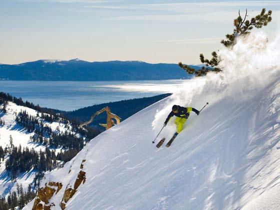 LAKE TAHOE, CALIFORNIA Recognized for world-class skiing, year-round outdoor recreation and unsurpassed natural beauty, Lake Tahoe is considered the jewel of the High Sierra.