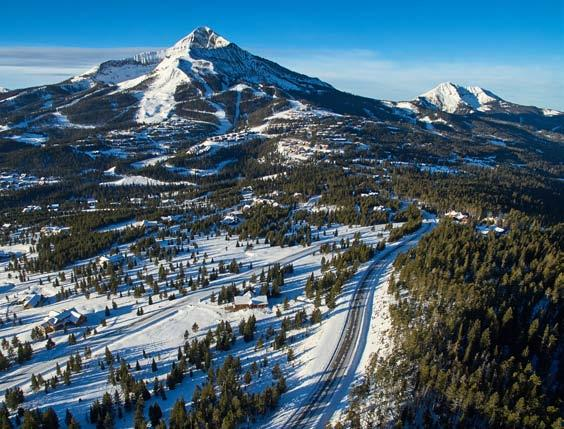 BIG SKY, MONTANA Big Sky, Montana is a world-class, 4-season resort that is quickly gaining notoriety as a town offering much more than deep powder, vast and diverse ski terrain, sunny days and no