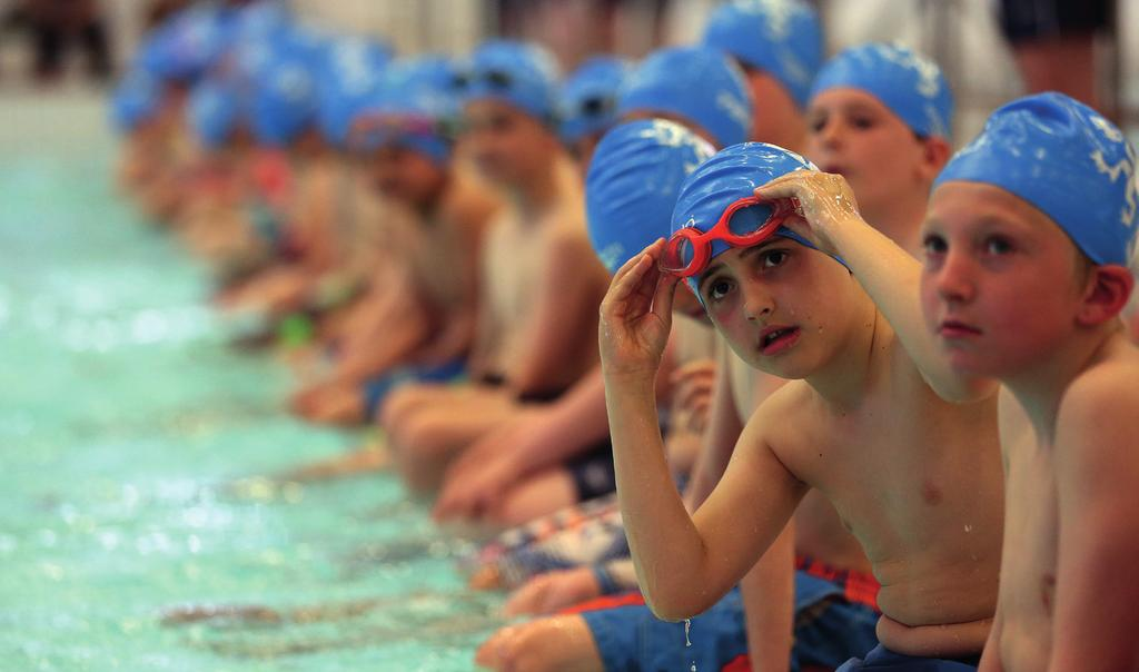 Before they start school, start swimming Encouraging your child to learn to swim is one of the most important opportunities you can give them.