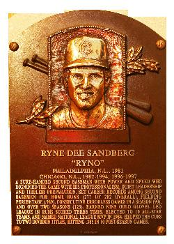 losses Ryne Sandberg Tennessee Smokies - 2009 - MGR Inducted in to the Baseball Hall of Fame - 1996 Smokies Managerial Record: 140